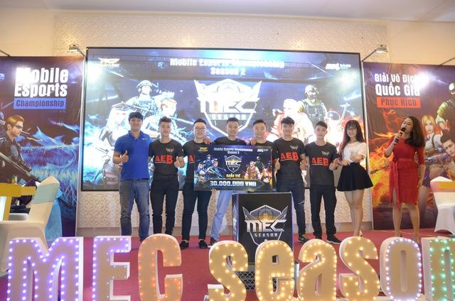 AE.Boss 1 xếp ở vị trí thứ 4 cùng 30 triệu đồng tiền thưởng