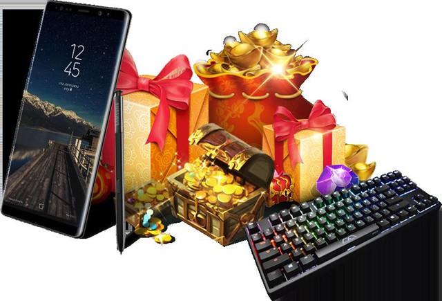 Tặng miễn phí Samsung Note 8 cho game thủ Cửu Thiên Phong Thần