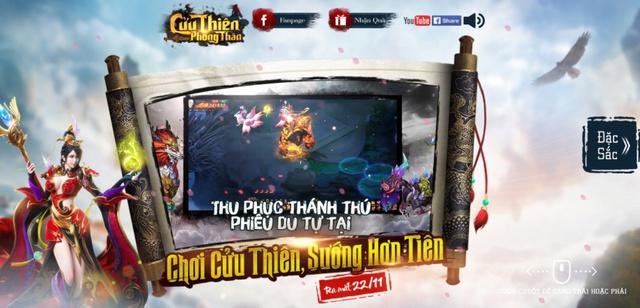 Cửu Thiên Phong Thần sẽ chính thức ra mắt tại thị trường Việt Nam vào ngày 22/11 tới đây