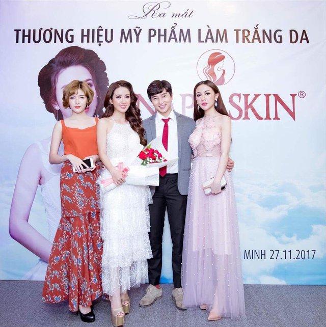 Linh Napie: Từ nữ diễn viên trở thành sáng lập thương hiệu mỹ phẩm - Ảnh 2.