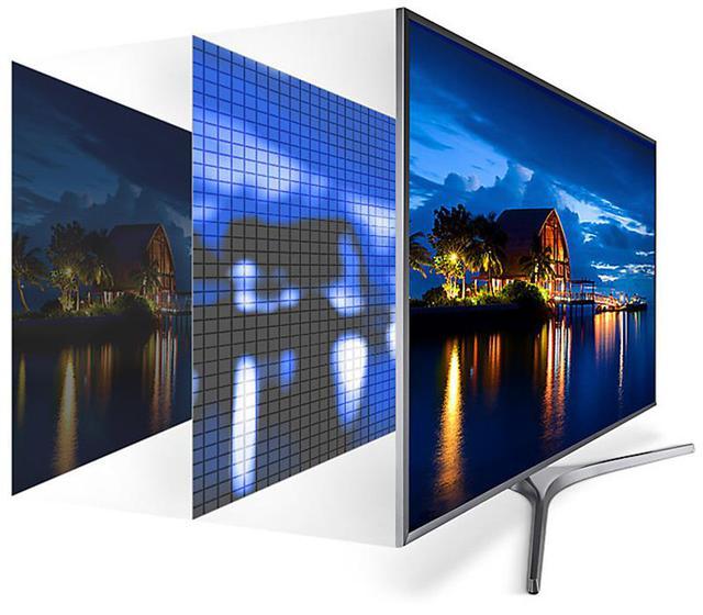 """Ngoài khả năng hiển thị hình ảnh 4K xuất sắc cùng công nghệ Active HDR. Model này còn được Samsung trang bị công nghệ """"đắt giá"""" khác nữa đó là Ultra HD Dimming. Công nghệ này sẽ chia hình ảnh thành từng khối nhỏ để tối ưu hóa màu sắc, độ nét và tăng cường độ tương phản cho sắc đen sâu thẫm cùng sắc trắng thật sự tinh khiết."""