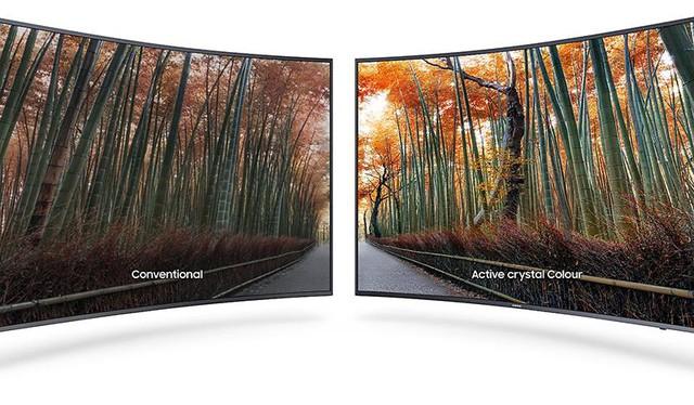 Chiếc Smart TV này được trang bị hàng loạt những tính năng cao cấp như Active Crystal Color, 4K Ultra HD, Active HDR, Micro Dimming Pro, điều khiển One Remote... Trong đó nổi bật nhất cần kể đến công nghệ Active Crystal Colour giúp cảm nhận hình ảnh trung thực như ngoài cuộc sống với màu sắc tự nhiên. Ngoài ra nó còn giúp cho hình ảnh trên TV hiển thị tươi sáng hơn đồng thời tiết kiệm lượng điện năng tiêu thụ.