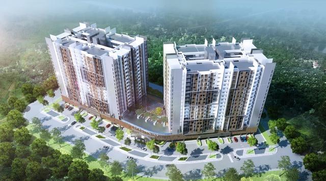 """Cận cảnh không gian sống xanh như """"resort"""" của công trình căn hộ đẳng cấp ở Biên Hòa - Ảnh 5."""