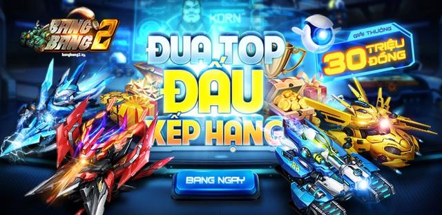 30.000.000 VNĐ tiền mặt mỗi tháng dành cho game thủ BangBang 2 thi tài