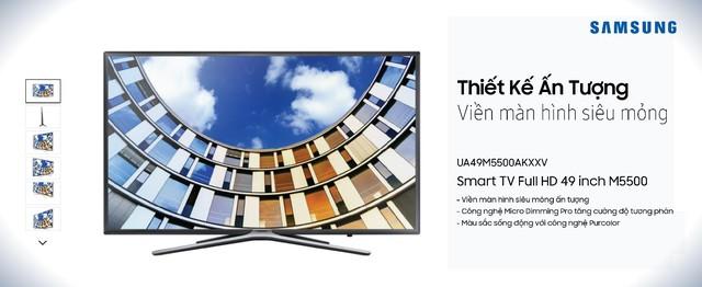 Top Smart TV mang không khí Tết về nhà với giá rất hấp dẫn - Ảnh 5.