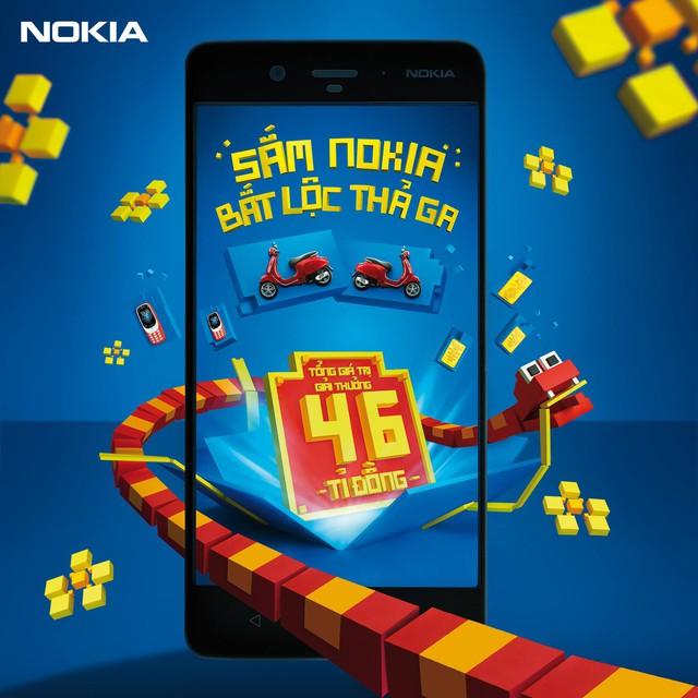 Bắt lộc đầu năm với Nokia 8 - Ảnh 1.