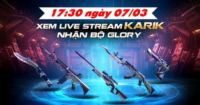 Xem Karik chơi CrossFire Legends nhận bộ Glory - ảnh 3