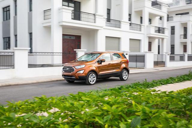 Ford EcoSport 2018 tự tin chinh phục mọi cung đường - Ảnh 1.