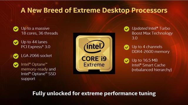 Bộ vi xử lý Intel® Core™ X-series – Chơi và làm việc đều thỏa mãn - Ảnh 1.