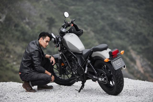 Honda Việt Nam chính thức giới thiệu Honda Rebel 300 tại thị trường Việt Nam! - Ảnh 2.