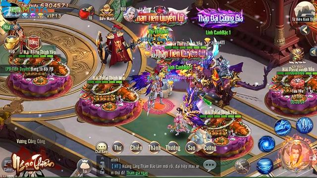 Ngạo Thiên Mobile tựa game tiên hiệp đồ họa đẹp mắt  Img20180323145753217