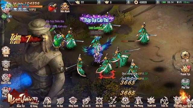 Ngạo Thiên Mobile tựa game tiên hiệp đồ họa đẹp mắt  Img20180323145753519