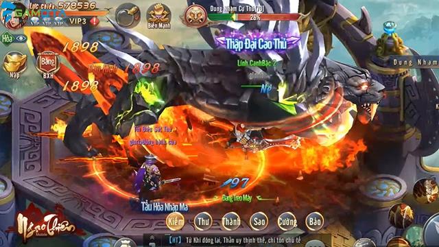 Ngạo Thiên Mobile tựa game tiên hiệp đồ họa đẹp mắt  Img20180323145753834