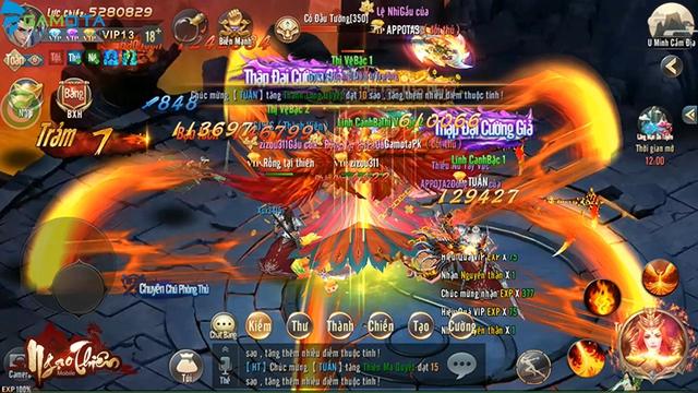 Ngạo Thiên Mobile tựa game tiên hiệp đồ họa đẹp mắt  Img20180323145754104
