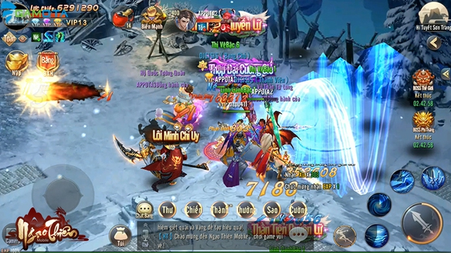 Ngạo Thiên Mobile tựa game tiên hiệp đồ họa đẹp mắt  Img20180323145754380