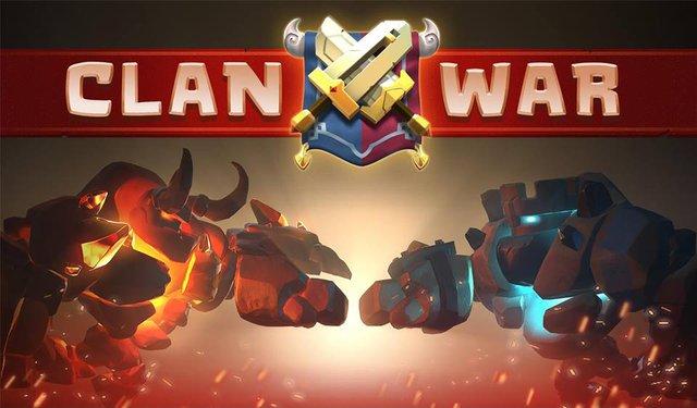 Tính năng mới được mong đợi – Clan War