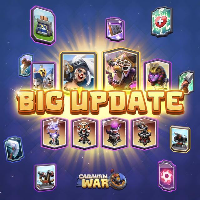Những nội dung mới hấp dẫn của bản big update