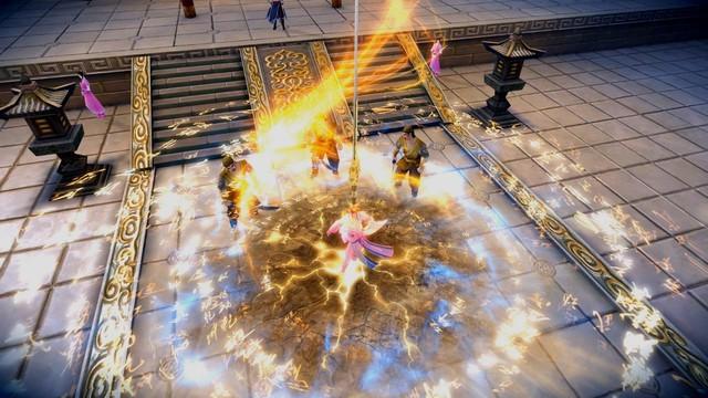 Thần Binh xuất thế - Ỷ Thiên Kiếm & Đồ Long Đao khuấy động thế giới võ lâm Cửu Âm 3D VNG - ảnh 1
