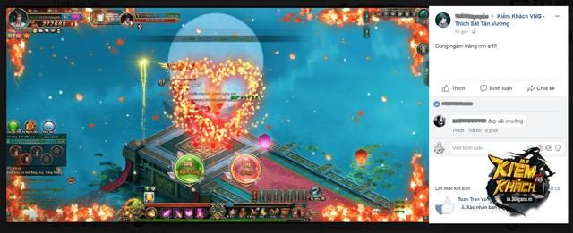 Ngắm trăng, ngắm hoa... chính là những trải nghiệm đặc sắc mà Kiếm Khách VNG mang đến cho gamer