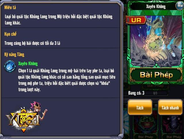 Yugih5 - Thêm một nhân vật mới khiến cộng đồng bài thủ chao đảo - ảnh 5
