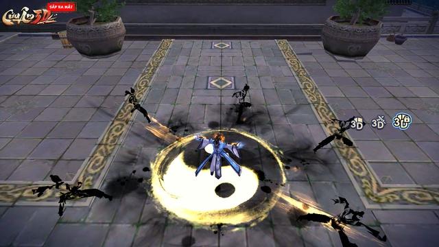 Khóa góc 3D giúp người chơi có cái nhìn tổng quát hơn