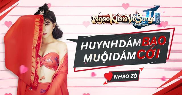 Ngẩn ngơ cosplay của nữ admin dám thách đấu thánh youtuber Hải Mõm tối nay (19/04)