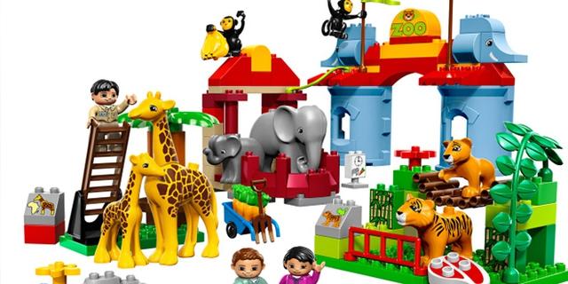 Đồ chơi xếp hình Lego tăng trí thông minh cho trẻ nhỏ (Ảnh minh họa)