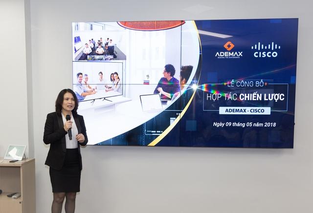 Những điểm nhấn từ lễ mở bán hợp tác chiến lược Ademax - Cisco - Ảnh 1.