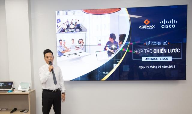 Những điểm nhấn từ lễ mở bán hợp tác chiến lược Ademax - Cisco - Ảnh 2.