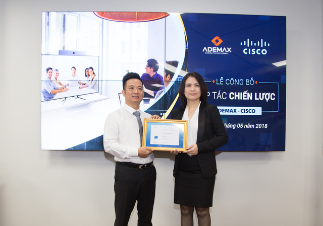 Những điểm nhấn từ lễ mở bán hợp tác chiến lược Ademax - Cisco - Ảnh 3.