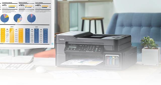 Máy in phun đa công dụng tiện dụng và gọn gàng cho văn phòng nhỏ - Ảnh 1.