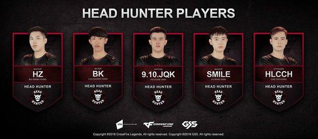 Line up của HH tại The Legends 2017