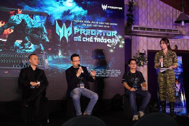 """Chủ tịch Acer khu vực Châu Á Thái Bình Dương """"Chúng tôi tạo ra Predator để trở thành thương hiệu Gaming hàng đầu địa cầu - Ảnh 1."""