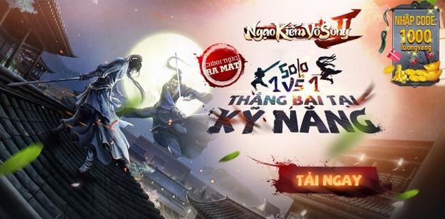 Ngạo Kiếm Vô Song 2 chính thức khởi tranh Đại Hội Võ Lâm