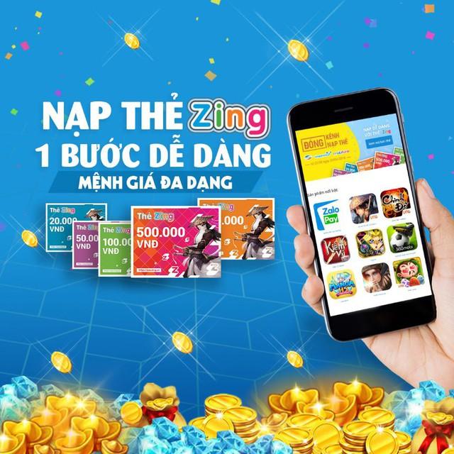Thẻ Zing trở lại tạo trào lưu kinh doanh cho game thủ