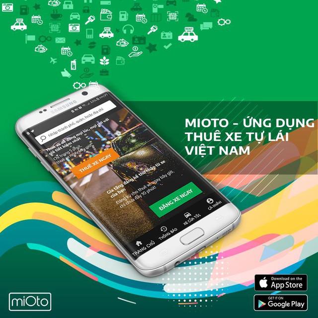 """Ứng dụng Mioto – Mô hình """"Airbnb"""" trong lĩnh vực thuê xe ô tô tại Việt Nam - Ảnh 1."""
