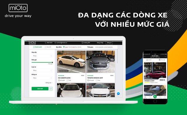 """Ứng dụng Mioto – Mô hình """"Airbnb"""" trong lĩnh vực thuê xe ô tô tại Việt Nam - Ảnh 2."""