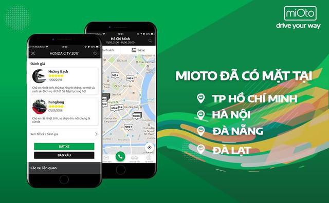 """Ứng dụng Mioto – Mô hình """"Airbnb"""" trong lĩnh vực thuê xe ô tô tại Việt Nam - Ảnh 3."""