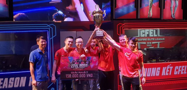 BossCFVN lập hat-trick, vô địch 3 lần liên tiếp tại giải quốc nội danh giá nhất của Đột Kích