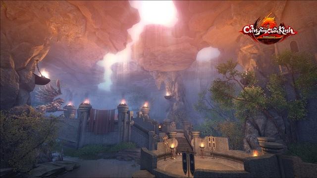 Hình ảnh về cấm địa mới Thiên Ẩn Cốc