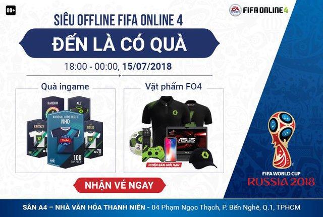 Siêu offline FIFA Online 4 - Xem chung kết World Cup 2018 - ảnh 1