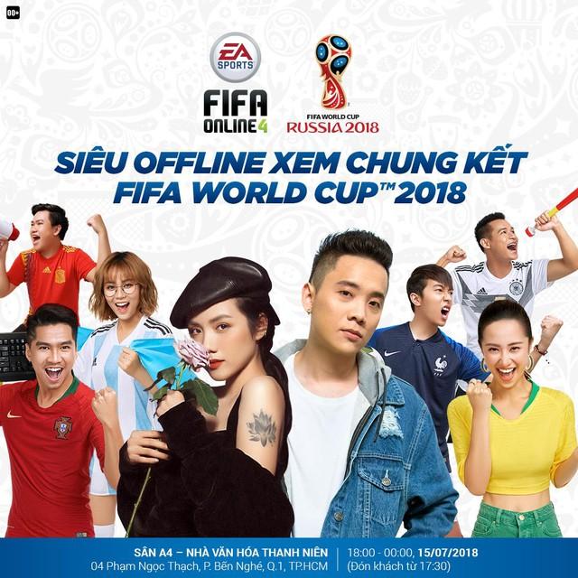 Siêu offline FIFA Online 4 - Xem chung kết World Cup 2018 - Ảnh 2.