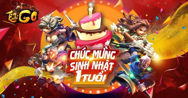 Tam Quốc GO tưng bừng với các hoạt động cực hot trong tháng kỉ niệm sinh nhật 1 năm của Game - Ảnh 1.