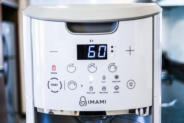Máy pha sữa 5 trong 1 IMAMI – pha sữa tiện lợi nhờ công nghệ thông minh - Ảnh 2.