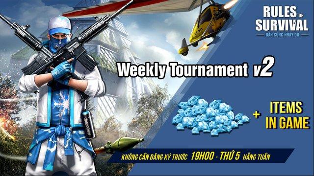 Nhận vật phẩm giá trị khi tham chiến ROS Mobile Weekly Tournament 19h ngày 2/8 - Ảnh 1.