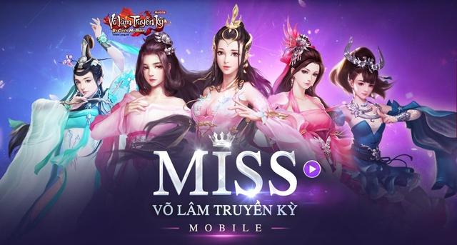 Cuộc thi Miss Võ Lâm Truyền Kỳ Mobile chính thức khai màn - ảnh 1