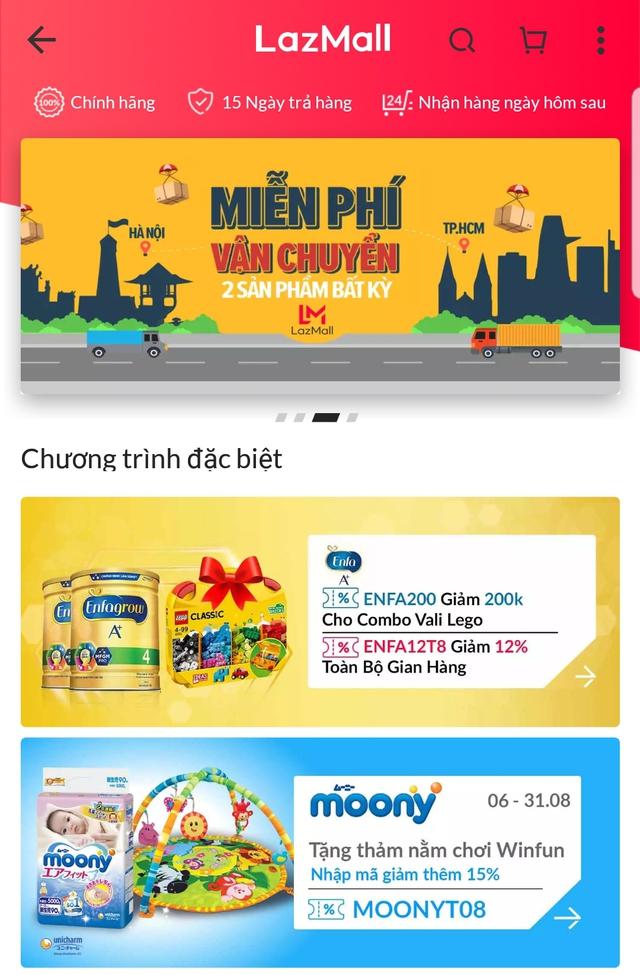 """Ngồi nhà săn hàng """"hiệu"""" ở nền móng mua sắm online danh tiếng Đông Nam Á - Ảnh 1."""