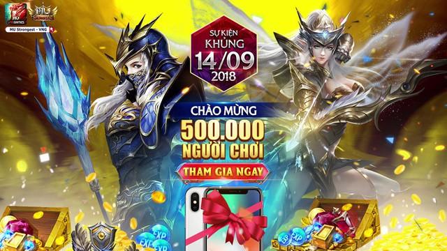 MU Strongest tung sự kiện hot nhất làng game Việt vào ngày 14/9 - ảnh 1