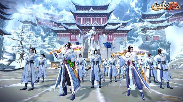 Lăng Tiêu Thành – Môn phái mới lạ lần đầu tiên xuất hiện trong Cửu Âm 3D VNG - ảnh 1
