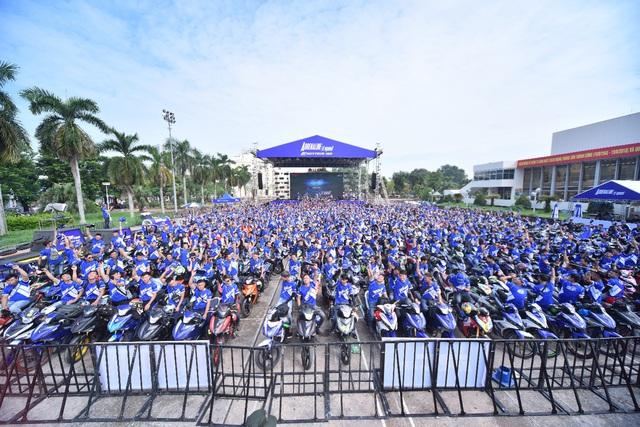 Yamaha Exciter 150 giữ vững ngôi vị vua xe côn tay tại Việt Nam - Ảnh 1.
